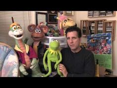 How to Make a Puppet's Mouth Move - teach kids how other puppets work