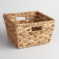 One of my favorite discoveries at WorldMarket.com: Natural Seagrass Double Twist Betty Basket