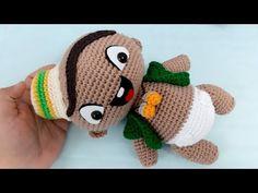 Patron Crochet, Rocket Power, Baby Rocker, Peppa Pig, Crochet Hats, Crochet Dreamcatcher, Amigurumi Doll, Craft, Key Chains