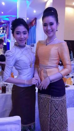 Evening Outfits and Miss Laos 2013