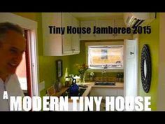 a 60 square foot tiny house camper cabin on wheels with a shower