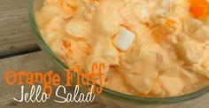 Orange Fluff Jello Salad