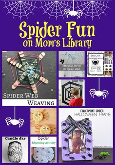 Life with Moore Babies: Spider Fun from Mom's Library