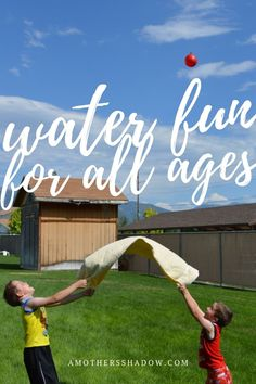 Ready for summer fun? This easy, low prep activity is for ALL ages. It's easy as 1-2-3, just come and see! #gamesforkids #qualitytime #kidsactivity #beattheheat #bond #gamesworkshop #teambuilding #freetime #playtime #funtime #momtips #dadlife #activitiesforkids #grandkids #grandson #grandmalife #summerbucketlist Fun Games For Adults, Indoor Activities For Kids, Time Activities, Water Games, Summer Bucket Lists, Play To Learn, Exercise For Kids, Business For Kids, Happy Kids