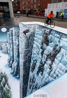 25 Realistic Street Art by 3D Joe and Max - http://designyoutrust.com/2014/09/25-realistic-street-art-by-3d-joe-and-max/