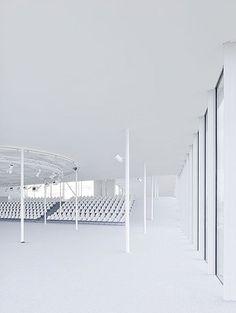 Rolex Learning Center, Switzerland, 2010   SANAA by Iwan Baan