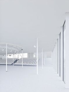 Rolex Learning Center, Switzerland, 2010 | SANAA by Iwan Baan