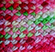 Cross stitch knitting/ Korssting strikk