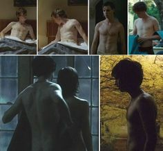 My compilation of shirtless pictures from Eddie Redmayne movies: Savage Grace, The Yellow Handkerchief and Powder Blue.