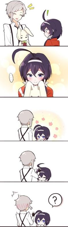 Cuteeeeee --Bungou Stray Dogs--