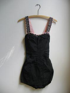 Vintage Catalina Bathing Suit Swim Suit Pin by vintagenowandthen, $250.00