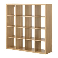 Kallax Shelving Unit, Oak Effect