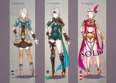 This is LAST clothes adopt auction in this month 1. Princess 2. Assassin SOLD 3. Dancer SOLD RULES: starter: 5$ min bid 2$ please insert full name and offer with your bid, for example if previous o...