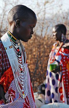 Maasai women. Kenya