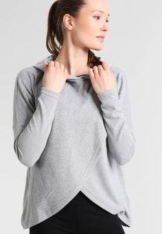 YAS Sport YASJENNA - Sweatshirt - light grey melange - Zalando.se