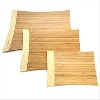 Set Of 3 Bamboo Cutting Boards Cutting Boards, Bamboo Cutting Board, Moso Bamboo, Wood, Crafts, Manualidades, Wooden Cutting Boards, Woodwind Instrument, Timber Wood