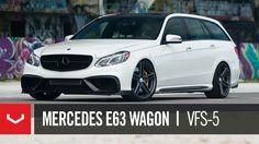 Vossen Wheels Mercedes E63 WAGON VFS-5