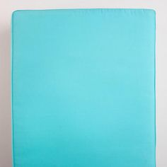One of my favorite discoveries at WorldMarket.com: Blue Turquoise Deep Bench Slipcover