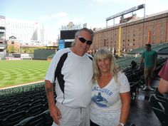Oriole Park at Camden Yards. Ballpark tour: Lower level in right field corner