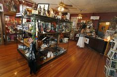 The Gift Gallery in The Cassadaga Hotel.