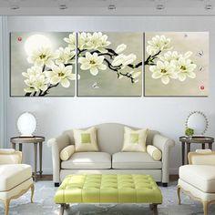 cuadros de flores para sala