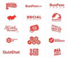 BuzzFeed Logos - Shaun Pendergast: Illustration