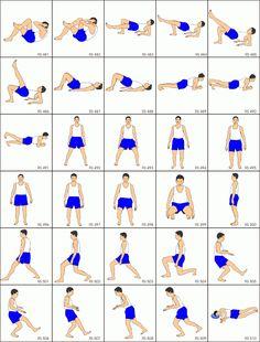 Stretching exercises 17