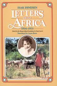 Letters From Africa, 1914 - 1931 / Karen Blixen. Pan, 1983.