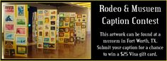 Read this blog post for more information on the museums in Fort Worth, Texas. Enter our caption contest too! https://www.facebook.com/hertz.neverlost/app_306225262780703?ref=br_tf