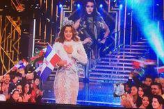 La dominicana #ClarissaMolina se acaba de coronar como Nuestra Belleza Latina VIP 2016.