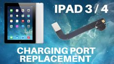 iPad 3 and 4 - Charging Port Replacement - YouTube Save The Day, It Works, The Creator, Ipad, Youtube, Nailed It, Youtubers, Youtube Movies