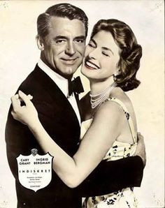 Cary Grant and Ingrid Bergman in Indiscreet