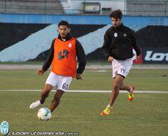 Entrenamiento previo al partido ante Veracruz