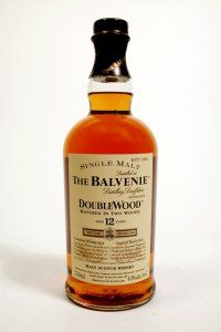 Balvenie Doublewood 12-Year: (Speyside) It's a pretty good Speyside that has some tart, spicy characteristics on top of its sherry sweetness. There's nothing wrong with it whatsoever, but for some reason, it didn't wow me, either. $50.