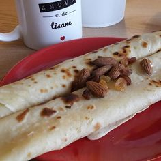 CRÊPE SANS ŒUF ET SANS BEURRE Toque, Tacos, Nutrition, Yum Yum, Ethnic Recipes, Food, Butter, Recipe, Egg Free Pancakes