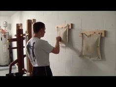 Wing Chun - Hand and wrist conditioning - YouTube