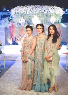 Girls in Pakistani wedding outfits Photo credit: A Small Shutter