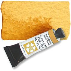 Monte Amiata Natural Sienna (PBr7) 15ml Tube, DANIEL SMITH Extra Fine Watercolor  good transparency & lifting-use for portraits