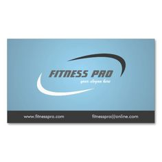 Fitness - Business Cards. This is a fully customizable business card and available on several paper types for your needs. You can upload your own image or use the image as is. Just click this template to get started!