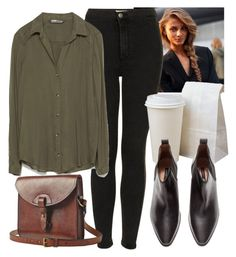 """""""Untitled #4135"""" by laurenmboot ❤ liked on Polyvore featuring Topshop, Zara, H&M and Toast"""