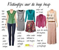 Kledingtips voor de hoge heup of de korte taille | www.lidathiry.nl | Klik op de foto voor meer informatie