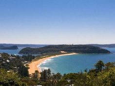 Barrenjoey Point - Palm Beach north of Sydney the set for 'Home and Away' tv series.