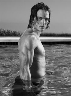 Tim Riggins for Finnick. All he needs is a trident.