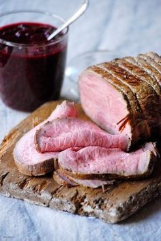 CHEZ SILVIA: Roastbeef a baja temperatura con frambuesas