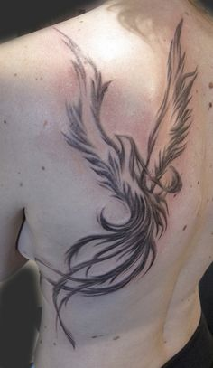 Phoenix Tattoo by Suzanna Fisher.