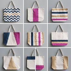 DIY: chic weekend tote