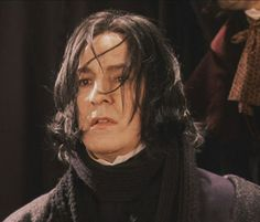 "Alan Rickman as Severus Snape in ""Harry Potter and the Philosopher's Stone"""