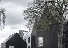 Copenhagen kindergarten designed to look like caricatures of homes with peaked roofs as drawn by children