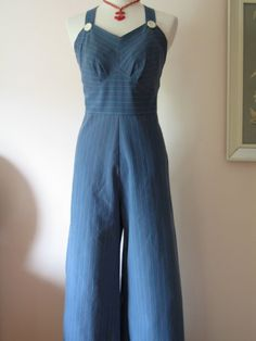 repro striped overalls from etsy
