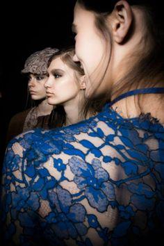 Ermanno Scervino Women's F/W 2014-2015 fashion show backstage #bepartofourfashionstory #ermannoscervino